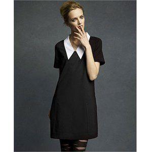 Karl Lagerfeld  Dress White Oversized Collar Small